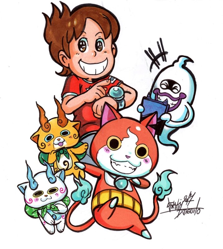 yokai watch 1 djiguito