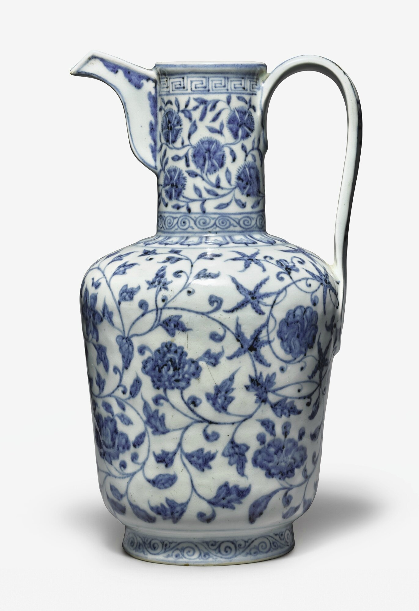 An exceptionally rare and important blue and white ewer xuande an exceptionally rare and important blue and white ewer xuande mark and period 1426 1435 reviewsmspy
