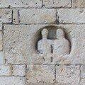 Eglise Saint-Hilaire, cippe funéraire gallo-romain remployé