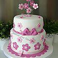 Gâteau baptême pour une petite fille ...