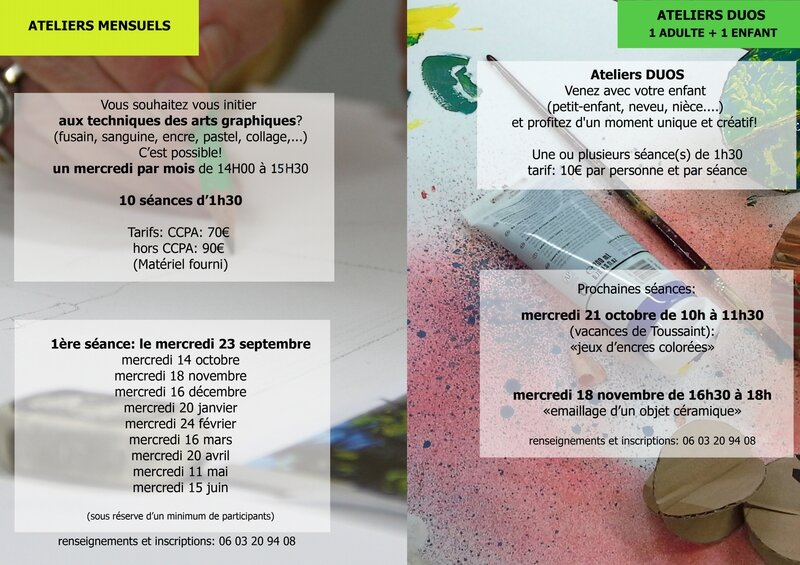 ateliers duos cours mensuels page