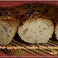 Mie pain aux lardons