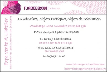 invitation expo decembre 2012