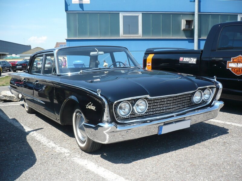 FORD Galaxie 4door Sedan 1960 Sinsheim (1)