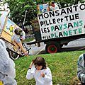 Monsanto annonçait en juin 2012 la construction en argentine de sa plus grande fabrique de semences de maïs transgéniques (ogm)