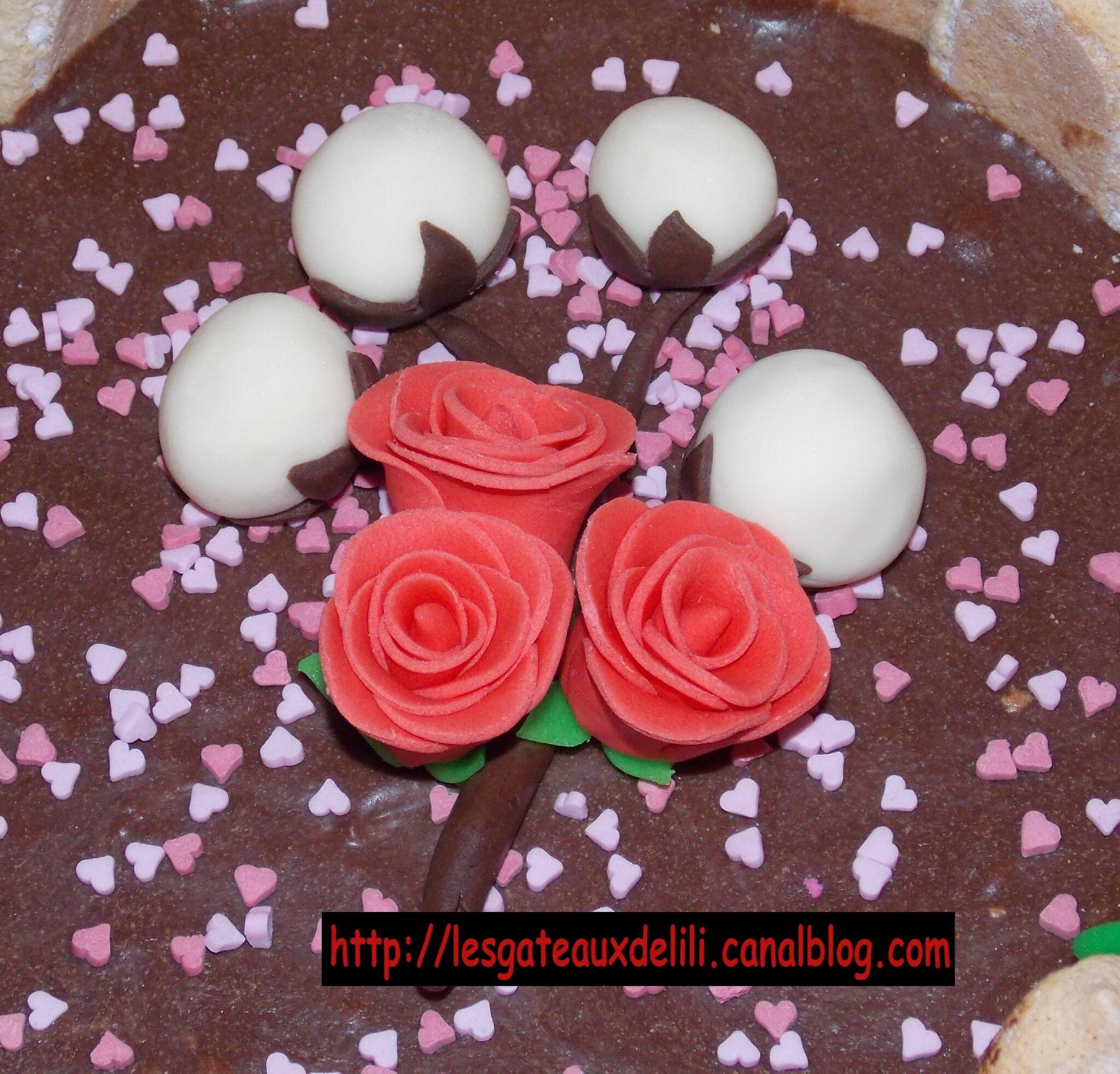 Noces de coton 1er ann e de mariage les g teaux de lili et autres gourmandises - 17 ans de mariage noces de saphir ...