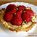 Tartelettes aux fraises 