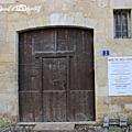 Porte de la maison des vins...
