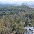 2008 04 27 Paysage vu depuis le sommet de la montagne du Meygal (5)