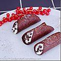 Cannoli au chocolat-cannelle