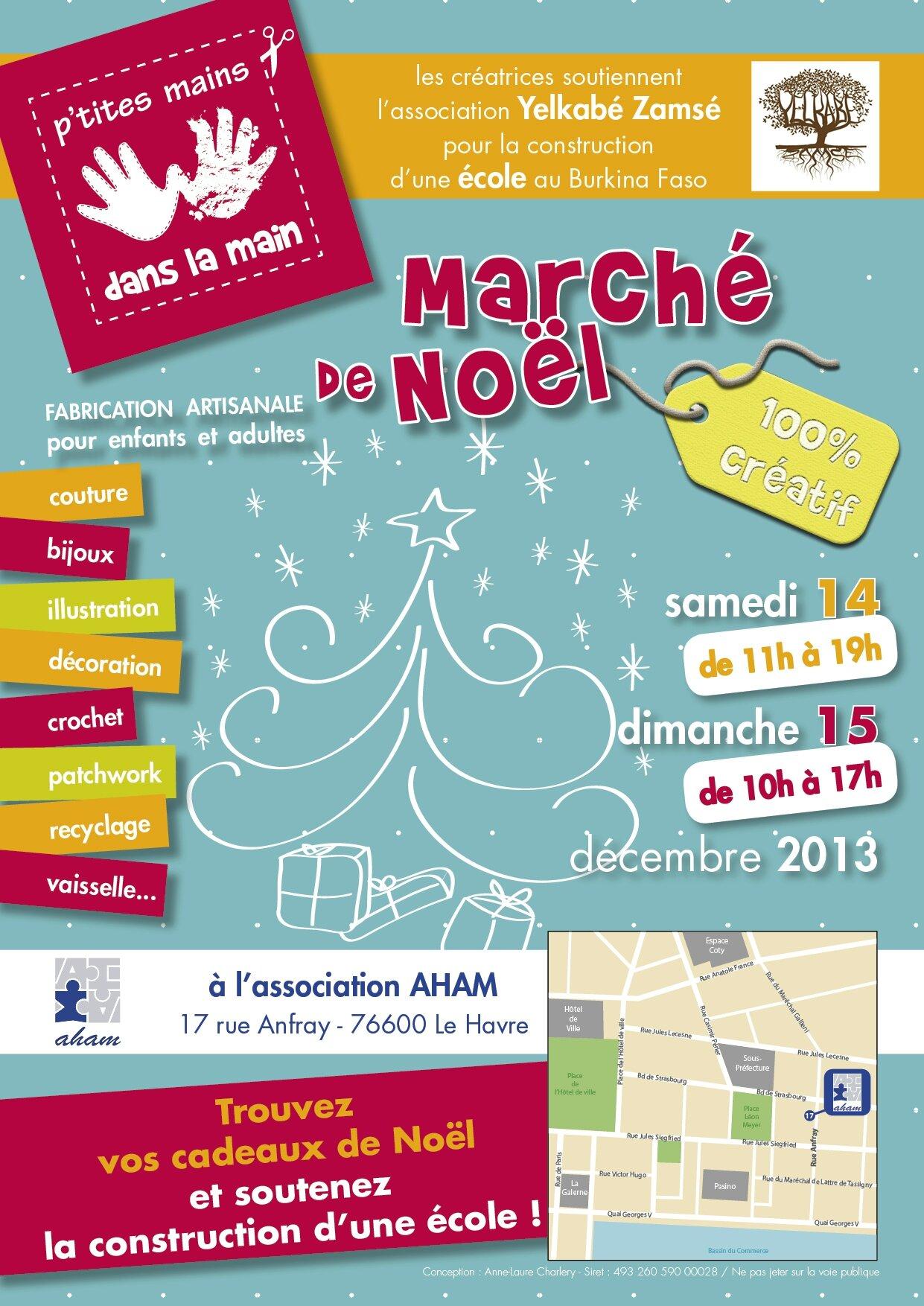 Affiche marche_ de noe_l - Aham