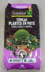 Terreau plantes en pot