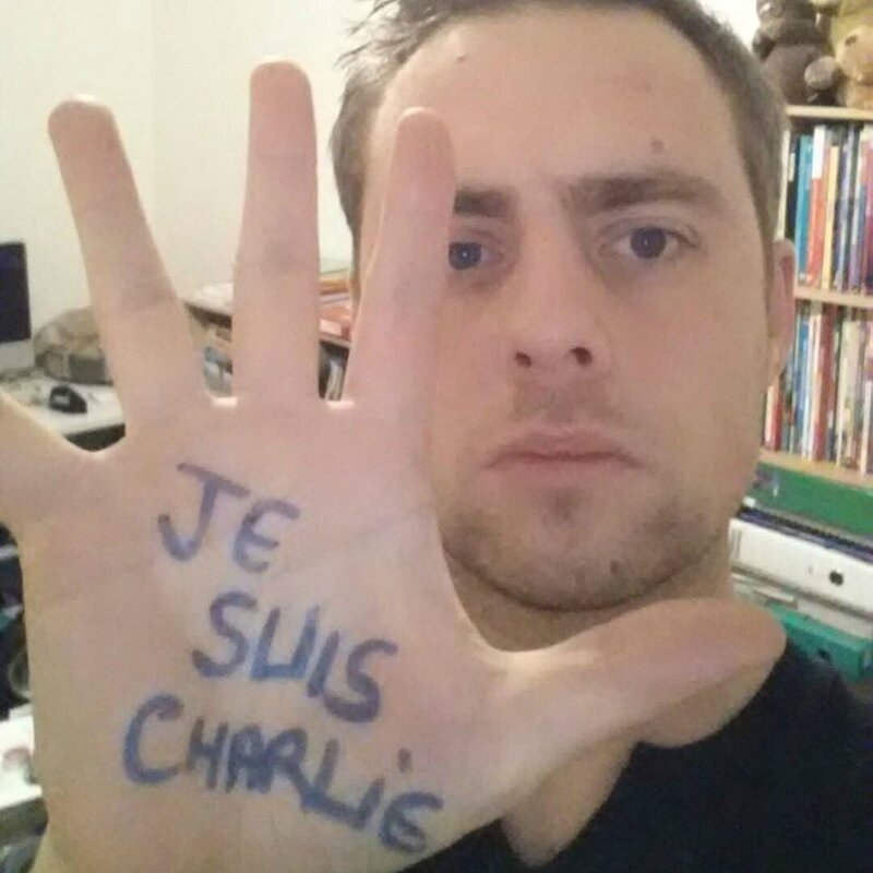 Gaël Je suis Charlie