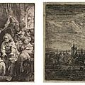 Cantor arts center exhibition presents exquisite dutch golden age prints by rembrandt van rijn and his peers