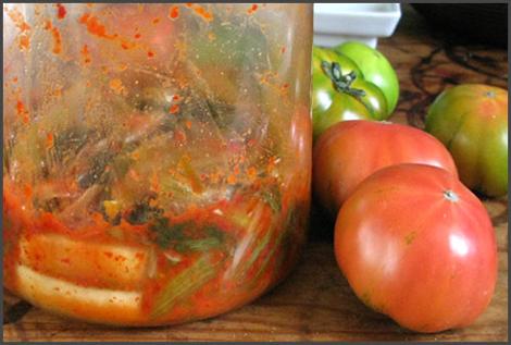 salade tomate sauce kimchi3