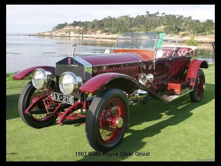 1907 - Rolls Royce Silver Ghost.