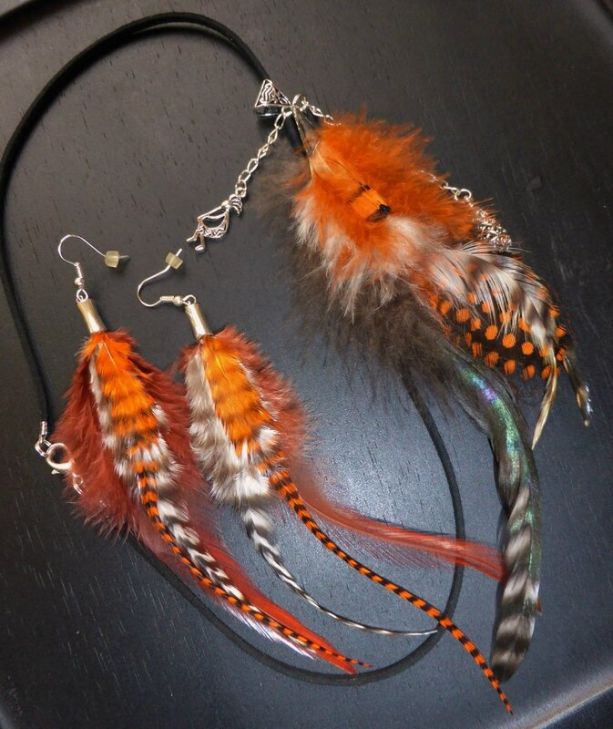 MARIE-LO COLLIER PLUMES + BO