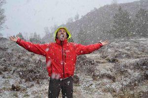 Seb sous la neige