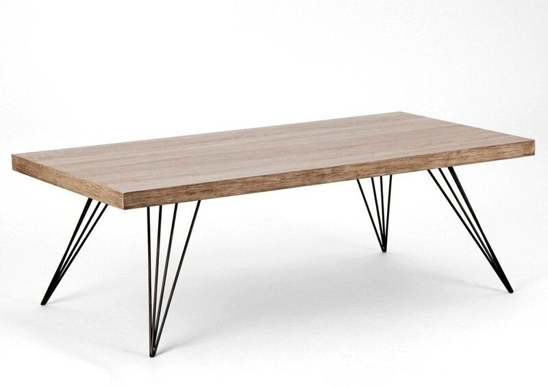 Table basse style scandinave pas cher for Meuble salon scandinave