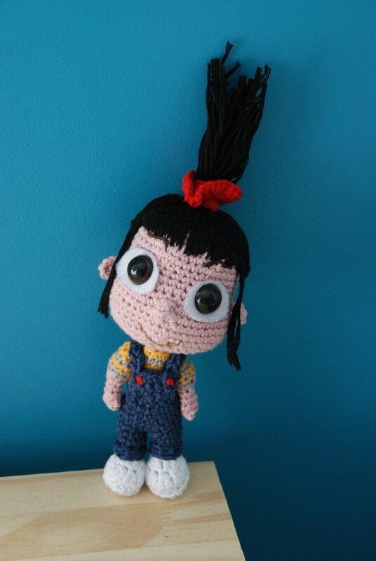 crochet amigurumi agnes despicable me