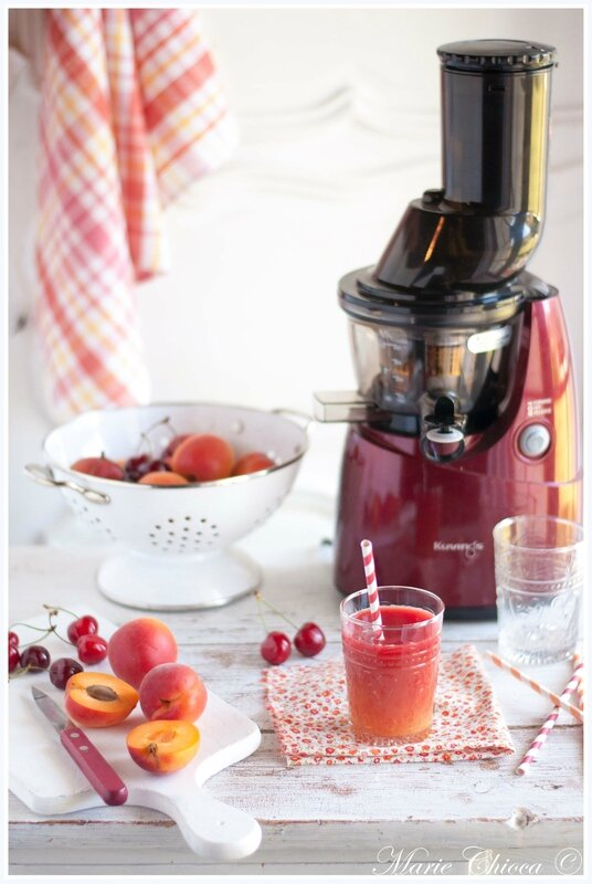 2 smoothie gourmand cerise-abricot 3-2