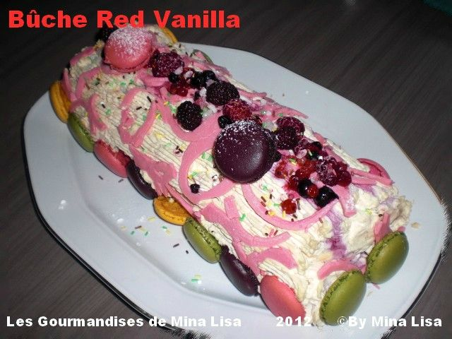 bûche red van