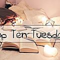 Top ten tuesday # 67