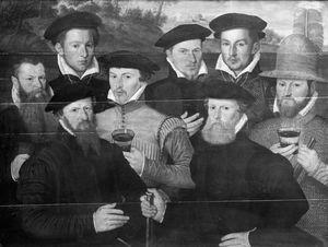 Groupe d'hollandais années 1550