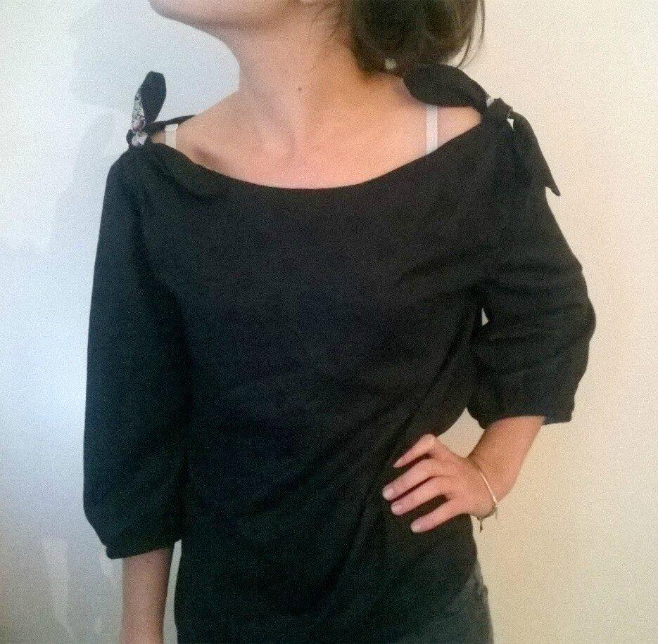 Ma blouse L et des petites astuces