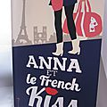Anna et le french kiss, de stephanie perkins