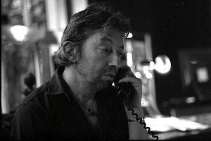Gainsbourg téléphone © Claude Truong-Ngoc