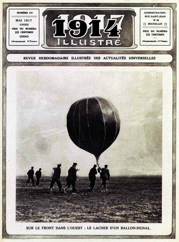 1914_illustré lacher de ballon