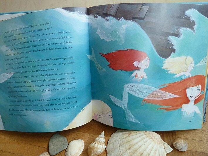 Histoires de sirènes - illustration de Lucie Brunellière