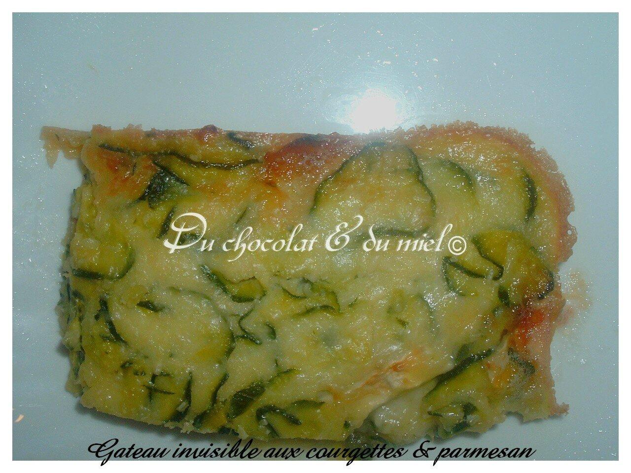 Gateau invisible aux Courgettes& parmesan