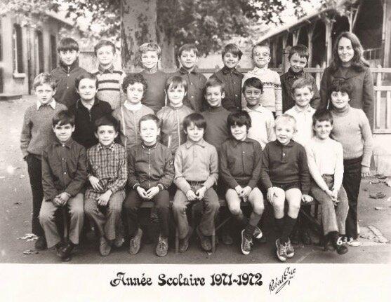 école Debussy 1971-1972 (2)
