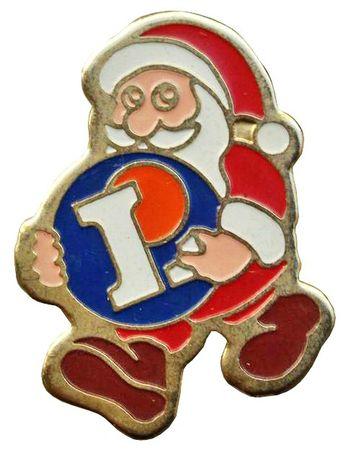Pin's Père-Noël 10