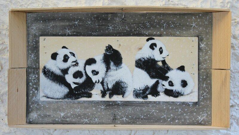 Bébés pandas (21x39)