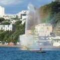 Jet d'eau Oriental Bay (Wellington)