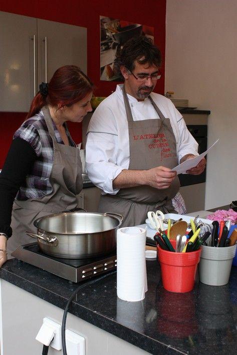 Les gambas photo de la cuisine et la rose l 39 atelier de for Atelier de la cuisine