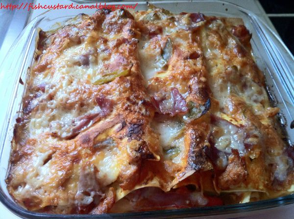 Lasagnes basques à la piperade (10)