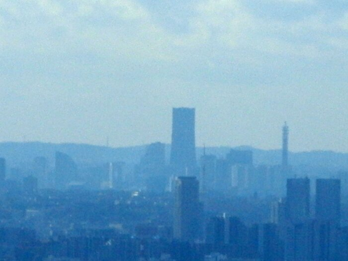 L'ombre de la Landmark Tower (Yokohama)