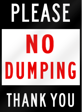 Please-No-Dumping-Thank-You