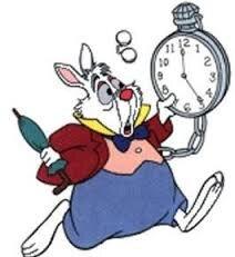 """Résultat de recherche d'images pour """"lapin alice en retard"""""""