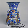 Lamp, Iznik, Turkey, ca. 1557