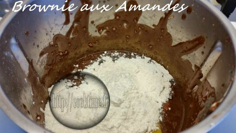 brownie aux amandes thermomix 1