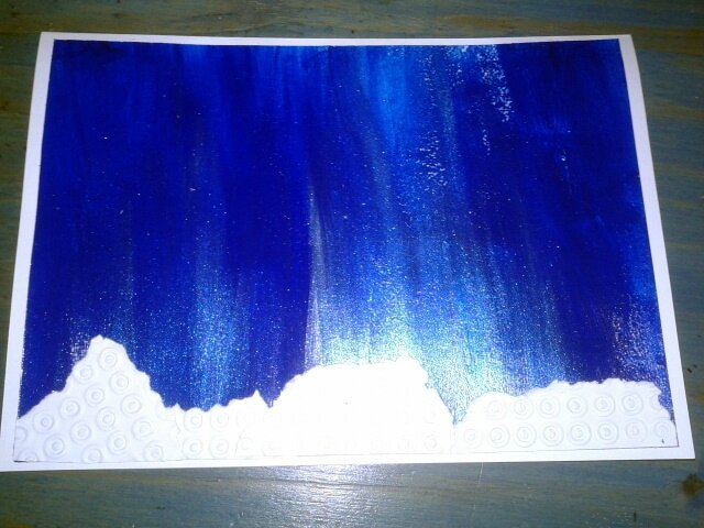 152_Noël et Nouvel an_ Carte Blanc Bleu Argent (23)
