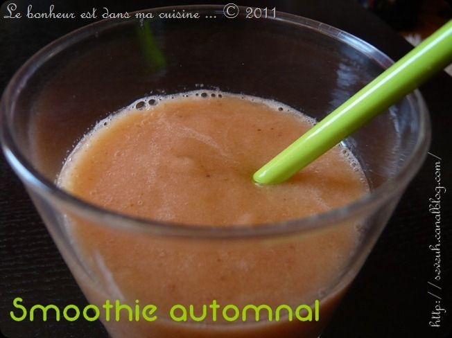 Smoothie automnal