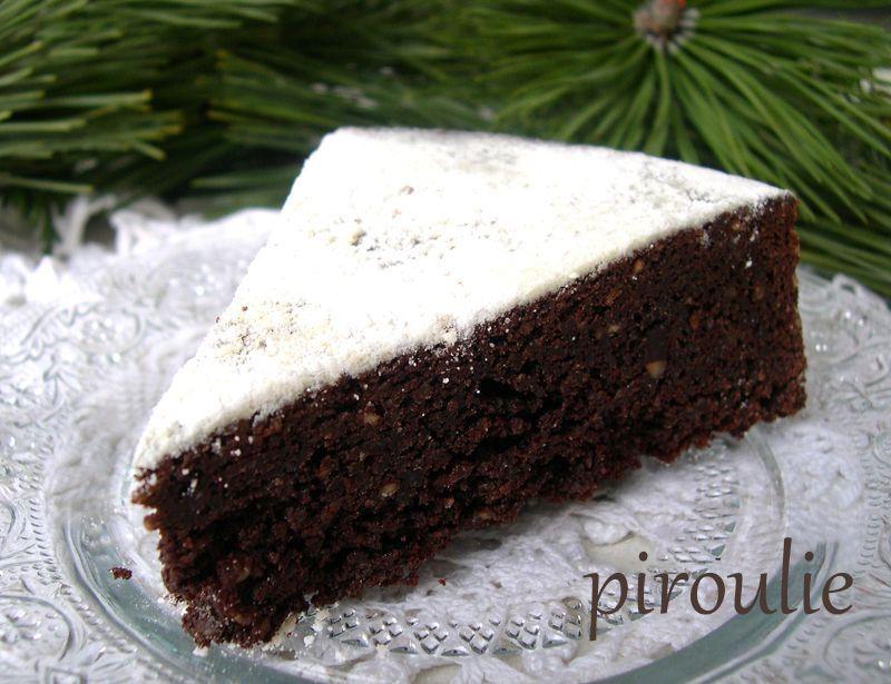 Gâteau de Pessah 8  Gâteau moelleux sans farine au chocolat et aux  noisettes