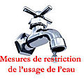 Restriction des usages de l'eau