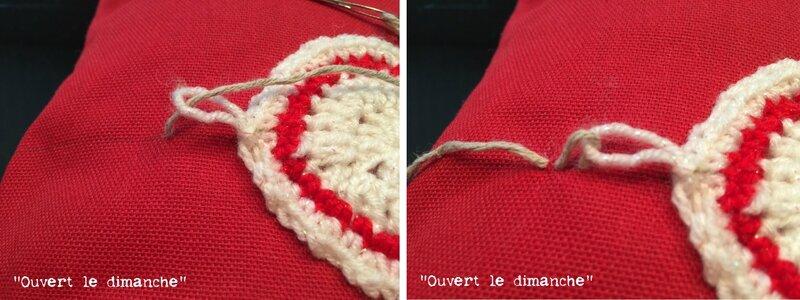Coussin Boules crochet 4